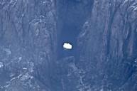Das Loch im Berg: 160 m tief, 35 m hoch, 20 m breit